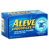 Aleve Naproxen Sodium Liquid Gels - 80 Count