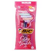 Bic Shavers Twin Select Silky Touch - 3 Count