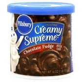 Pillsbury Ready To Serve Chocolate Fudge Frosting-16 oz