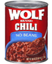 Wolf No Beans Plain Chili, 40 OZ