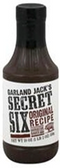 Garland Jack's Secret 6 - Original Barbecue Sauce -18oz