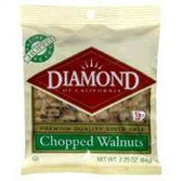 Diamond Chopped Walnuts - 2.25 oz