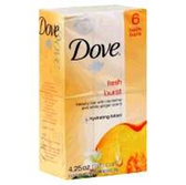 Dove Bar Soap Go Fresh Burst - 6-4.25 Oz