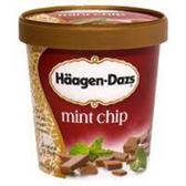 Haagen Dazs Mint Chip Ice Cream - 14 oz