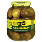 Mt Olive Kosher Pickle Dills -16 oz