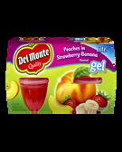 Del Monte - Peaches in Strawberry Banana Gel -4ct