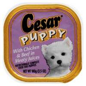 Cesar Select Dinner Food For Puppies - 3.5 Oz