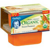 Gerber Organics First Food - Sweet Potatoes