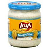 Lay's Smooth Ranch Dip -15 oz