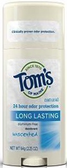 Tom's of Maine Long Lasting Unscented Deodorant - ea