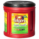 Folgers Simply Smooth Coffee - 34.5 oz