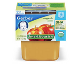 Gerber Organic 2nd Food - Applesauce