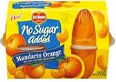Del Monte - Mandarin Oranges in Water -4ct