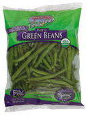 Organic Snipped Green Beans - 12 oz