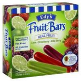 Dreyers / Edys Whole Fruit Bar Variety Pack - 12 ct