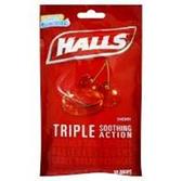 Halls Cherry Cough Drops - 30 Count