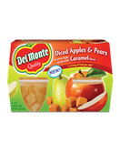 Del Monte - Diced Apples & Pears with Caramel Syrup -4ct