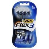 Bic Shavers Flex 3 - 4 Count