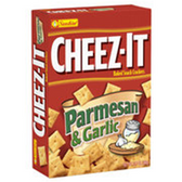 Cheez-It Baked Snack Crackers Parmesan & Garlic-13.7 oz