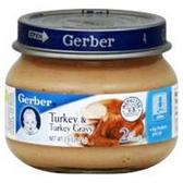 Gerber Baby 2nd Food - Turkey & Turkey Gravy