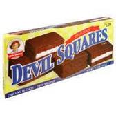 Little Debbie Devil Squares -11 oz