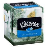 Kleenex Lotion Aloe and E 3-Ply Tissues - 130 Count