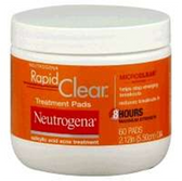 Neutrogena Rapid Clear Acne Treatment Pads - 60 Count