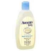 Aveeno Baby Wash and Shampoo - 8 oz