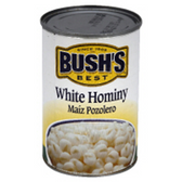 Bush's White Hominy -15  oz