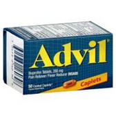Advil Tablets - 50 Count