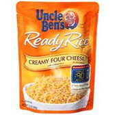 Uncle Ben's Ready Rice (Just Microwave)-Creamy Four Cheese-8.8oz