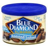 Blue Diamond Roasted Salted Almonds - 16oz