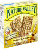 Nature Valley Crunchy Bars - Roasted Almond -6 pouches