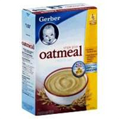 Gerber Baby Cereal - Oatmeal