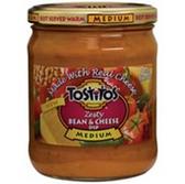 Tostitos Salsa Zesty Bean Cheese Medium -15 oz