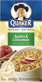 Instant Oatmeal - Apples & Cinnamon -11.5oz