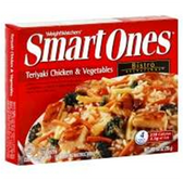 Weight Watchers SmartOnes Frozen Teriyaki Chicken &Vegetable-9o