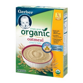 Organic Gerber Oatmeal Cereal