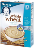 Gerber Whole Wheat -8-oz
