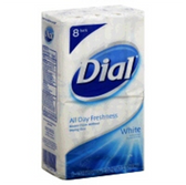 Dial White Bar Soap - 8-4.5 Oz