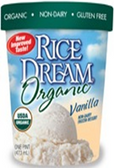 Rice Dream Ice Cream - Vanilla -1quart