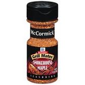 McCormick Grill Mates Smokehouse Maple Seasoning-3.5 oz