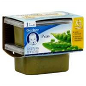 Gerber Baby First Food - Peas