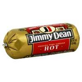 Jimmy Dean Pork Sausage Hot - 16oz