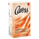 Caress Daily Silkening Bar Soap - 6-4.25 Oz