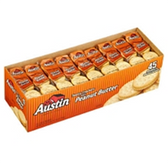 Austin Toasty Crackers With Peanut Butter - 45 pk