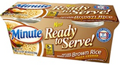Minute Rice - Brown Rice -4.4oz