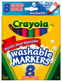 Crayola Washable Markers-6ct
