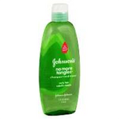 Johnson and Johnson No More Tangles Shampoo