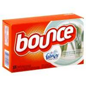 Bounce w/ Febreze Meadows & Rain Fabric Softener Sheets - 70 ct